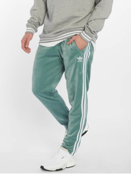 adidas originals Spodnie do joggingu Cozy turkusowy