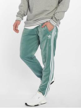 adidas originals Spodnie do joggingu Cozy turkusowy
