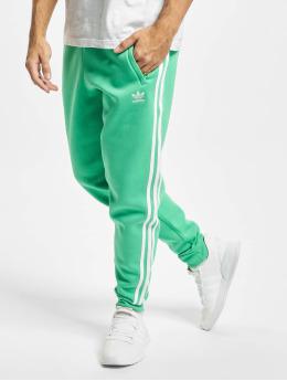 adidas Originals Spodnie do joggingu 3-Stripes  zielony