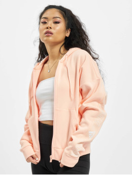 adidas Originals Sudaderas con cremallera W Bos Aop rosa
