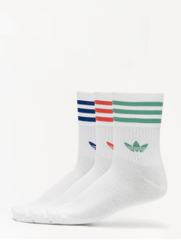 adidas Originals Sukat Mid Cut Crew valkoinen