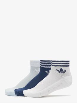 adidas Originals Sukat Trefoil Ankle valkoinen