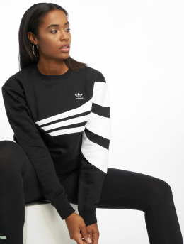 adidas originals Sweat & Pull Diagonal  noir