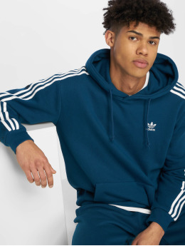 adidas originals Sweat capuche Monogram bleu
