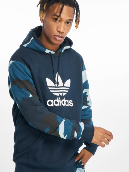 adidas originals Sweat capuche Camo OTH bleu
