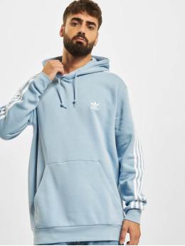 adidas Originals Sweat capuche Originals 3-Stripes bleu