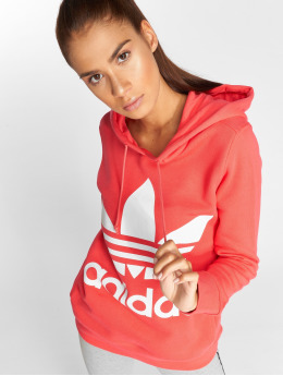 adidas originals Sweat capuche Trefoil magenta