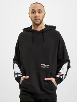 adidas Originals Sweat capuche Tricolor noir
