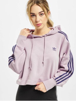 adidas Originals Sweat capuche Cropped rose