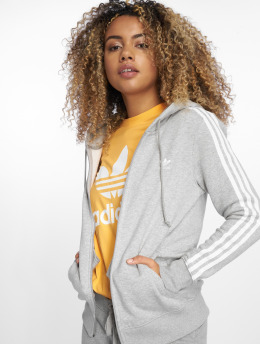 adidas originals Sweat capuche zippé Originals 3str gris