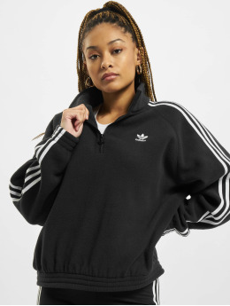 adidas Originals Swetry Originals Fleece Half Zip czarny