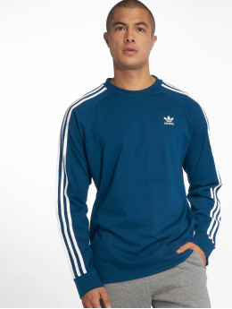 adidas originals Swetry 3-Stripes niebieski