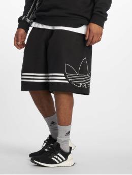 adidas originals Szorty Outline czarny