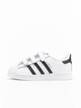 adidas Originals Tøysko Superstar CF I  hvit