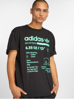 adidas Originals T-paidat Kaval Grp musta