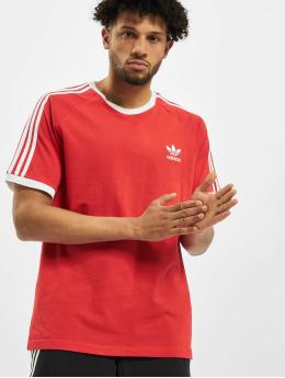 adidas Originals T-paidat 3-Stripes  punainen