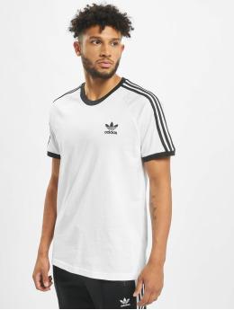 adidas Originals T-paidat 3-Stripes valkoinen