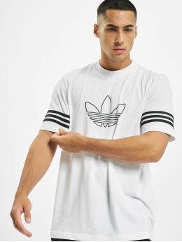 adidas Originals T-paidat Outline  valkoinen