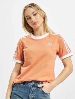 adidas Originals T-shirt 3 Stripes apelsin
