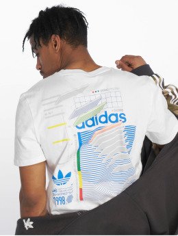 adidas originals T-shirt Dodson bianco