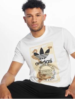 adidas originals T-shirt Camo  bianco