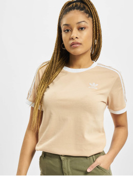 adidas Originals T-shirt 3 Stripes blå