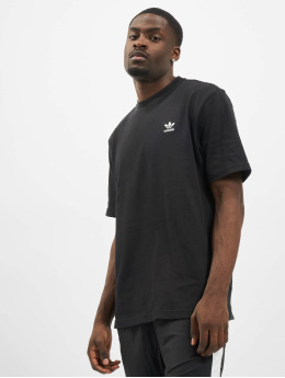 adidas Originals T-Shirt Back and Front Print Trefoil black
