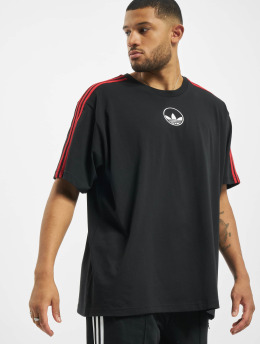 adidas Originals T-Shirt 3-Stripes Circle black
