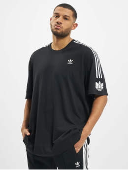 adidas Originals T-Shirt 3D Trefoil 3-Stripes black