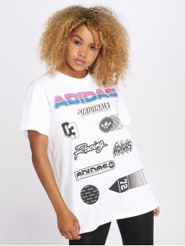 adidas originals T-Shirt Jul Graphic blanc