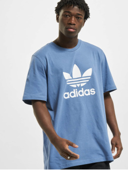 adidas Originals T-Shirt Originals Trefoil blau