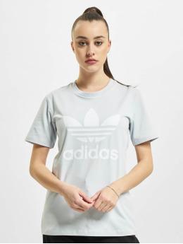 adidas Originals T-Shirt Trefoil blau