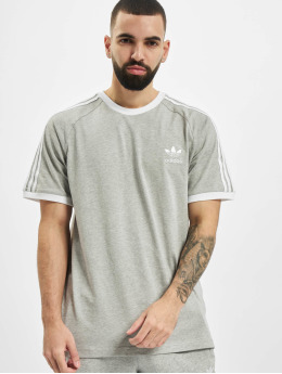 adidas Originals T-Shirt 3-Stripes grau