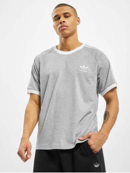 adidas Originals t-shirt 3-Stripes grijs
