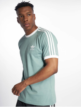 adidas originals t-shirt 3-Stripes groen