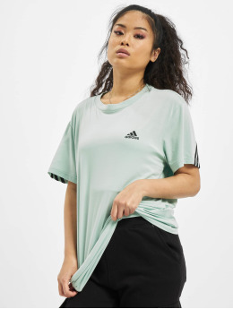 adidas Originals T-Shirt Muat Haves 3 Stripes grün