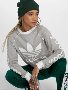adidas originals T-Shirt manches longues Og gris
