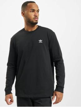 adidas Originals T-Shirt manches longues Back And Front Trefoil noir