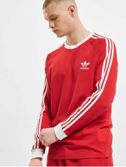 adidas Originals T-Shirt manches longues 3-Stripes  rouge