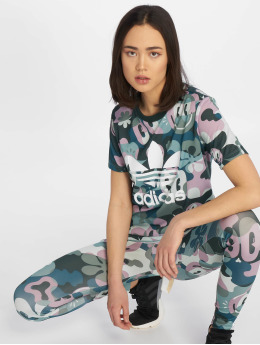 adidas originals T-Shirt Trefoil multicolore
