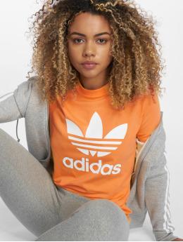 adidas originals t-shirt Trefoil  oranje