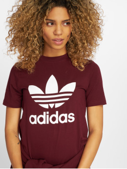 adidas originals T-Shirt Trefoil red