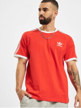 adidas Originals T-shirt Originals 3-Stripes röd