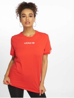 31d059e508868 Dickies   Horseshoe rouge Femme T-Shirt 617616