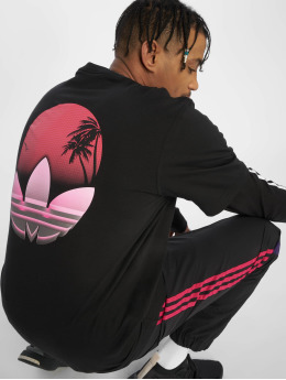 adidas originals T-Shirt Tropical schwarz
