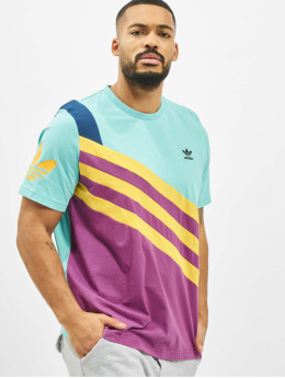 adidas Originals T-Shirt Sportive Nineties turquoise