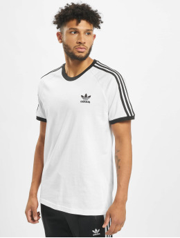 adidas originals T-Shirt 3-Stripes weiß