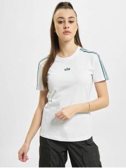 adidas Originals T-Shirt Slim  weiß