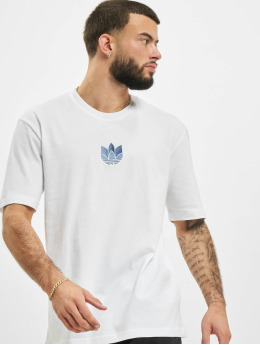 adidas Originals T-Shirt 3D Trefoil  white