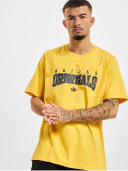 adidas Originals T-Shirt Script  yellow